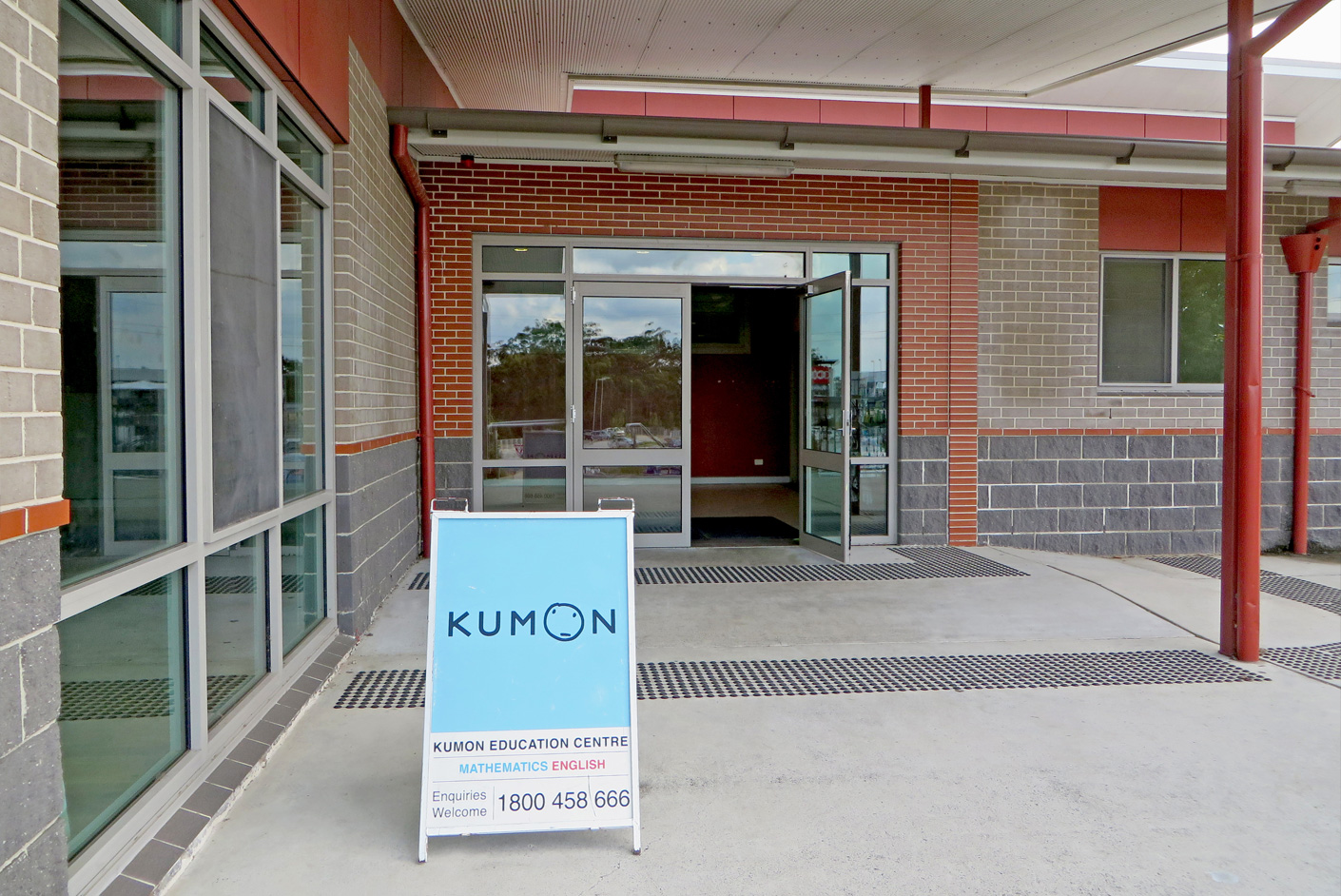 Exterior of a Kumon Centre operating from a non-commercial venue